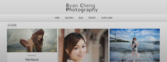 New Look of Ryan Cheng Photography